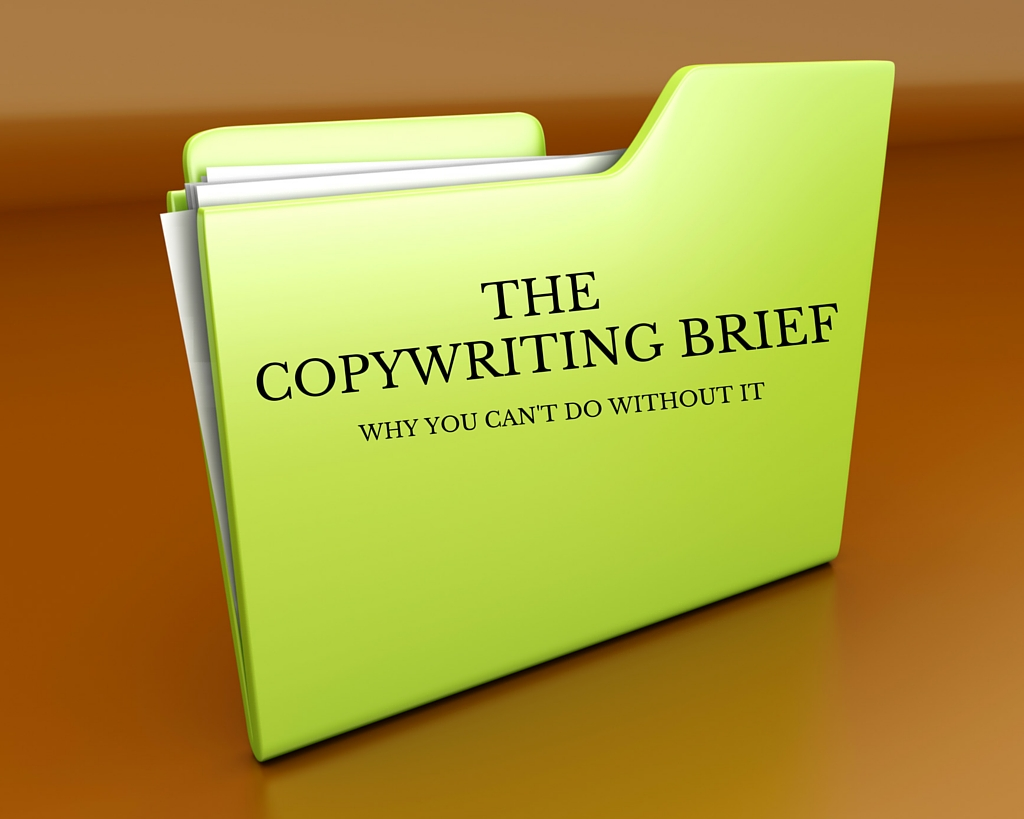 The copywriting brief: why you can't do without it