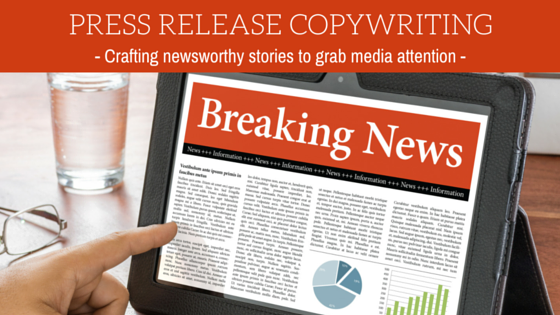 Press release copywriting Singapore